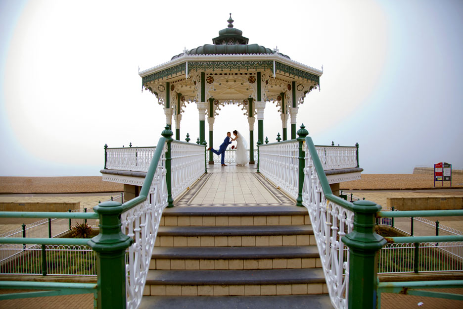 Wedding Photography Brighton Bandstand
